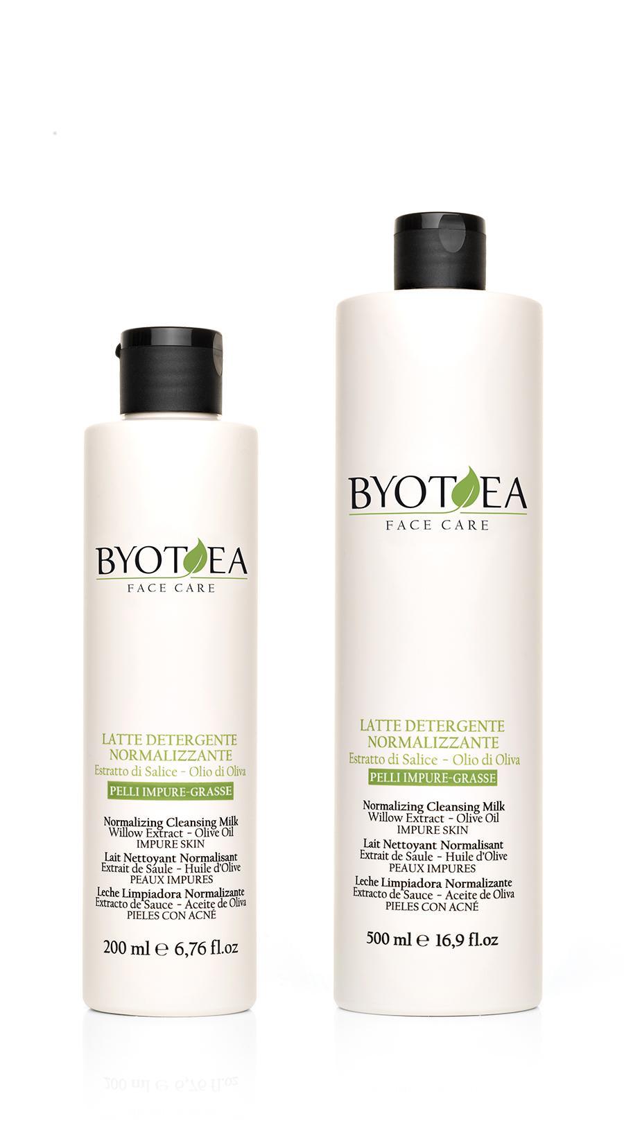 Byothea viso latte detergente normalizzante for Arredamento parrucchieri outlet